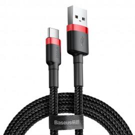 Kabel USB Typ C 2A 3m Baseus Cafule CATKLF-UG1 Black Red