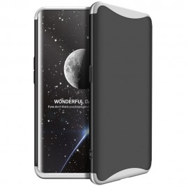 Etui 360 Protection do Oppo Find X Black Silver