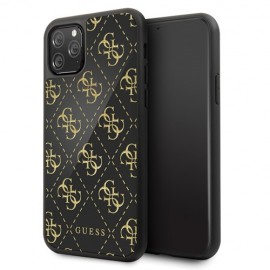 Etui Guess do iPhone 11 Pro 4G Double Layer Glitter Black
