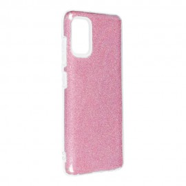 Etui SHINING do Samsung Galaxy A41 A415 Pink