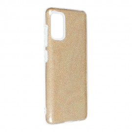 Etui SHINING do Samsung Galaxy A41 A415 Gold