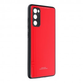 Etui Glass Case do Samsung Galaxy S20 FE G780 Red