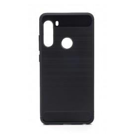 Etui CARBON do Samsung Galaxy A21 A215 Black