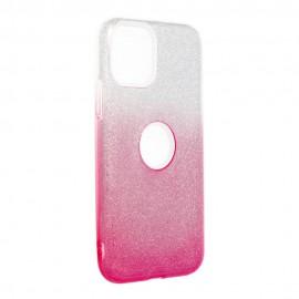 Etui Shining do Xiaomi Mi 10T Lite Clear/Pink