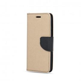 Etui Fancy Book do Samsung Galaxy A41 A415 Gold Black