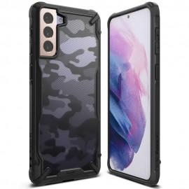 Etui Rearth Ringke do Samsung Galaxy S21 G991 Fusion-X Camo Moro Black