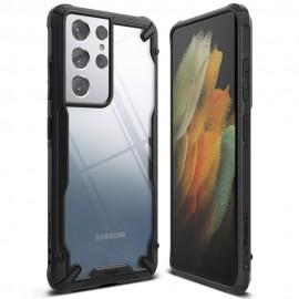 Etui Rearth Ringke do Samsung Galaxy S21 Ultra G998 Fusion-X Black