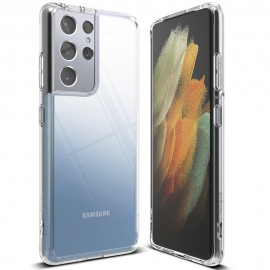 Etui Rearth Ringke do Samsung Galaxy S21 Ultra G998 Fusion Crystal Clear Black