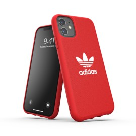 Etui Adidas do iPhone 11 Moulded Canvas Red