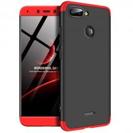 Etui 360 Protection do Xiaomi Redmi 6 Black Red