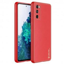 Etui DuxDucis do Samsung Galaxy S20 FE G780 Yolo Red