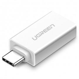 Adapter ze złącza USB 3.2 na USB Typ C Ugreen White