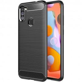 Etui Carbon do Samsung Galaxy A11 A115 / M11 M115 Blue