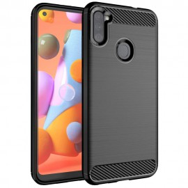 Etui Carbon do Samsung Galaxy A11 A115 / M11 M115 Black