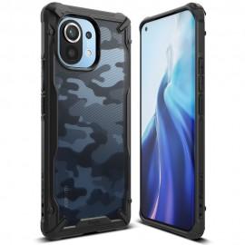 Etui Rearth Ringke do Xiaomi Mi 11 Fusion-X Camo Moro Black