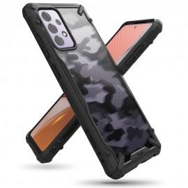 Etui Rearth Ringke do Samsung Galaxy A72 A725 Fusion-X Camo Moro Black