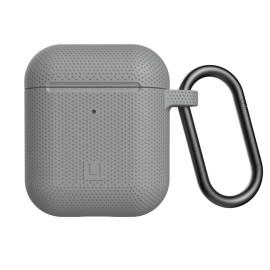 Etui UAG do Słuchawek Airpods 1/2 U Dot Silicone Grey