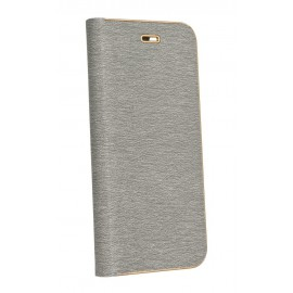 Etui Luna Book do Samsung Galaxy A52 A526 Silver/Gold