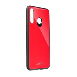 Etui Glass Case do Huawei Y6P Red