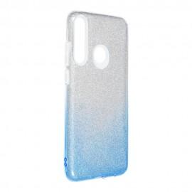 Etui Shining do Huawei Y6P Clear/Blue
