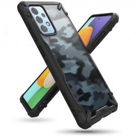 Etui Rearth Ringke do Samsung Galaxy A52 A526 Fusion-X Camo Moro Black