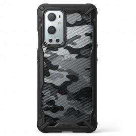 Etui Rearth Ringke do Oneplus 9 Pro Fusion-X Camo Moro Black