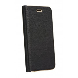 Etui Luna Book do Samsung Galaxy A72 A725 Black Gold