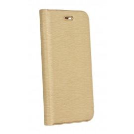Etui Luna Book do Samsung Galaxy A72 A725 Gold
