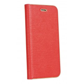 Etui Luna Book do Samsung Galaxy A72 A725 Red Gold