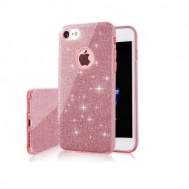 Etui Shining do Huawei Y6P Pink