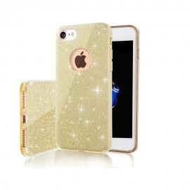 Etui Shining do Huawei Y6P Gold
