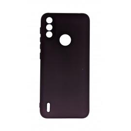 Etui Silicone Case do Motorola Moto E7 Power Black
