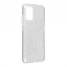Etui SHINING do Samsung Galaxy A02s A025 Silver