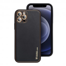 Etui Forcell Leather Case do Samsung Galaxy A02s A025 Black