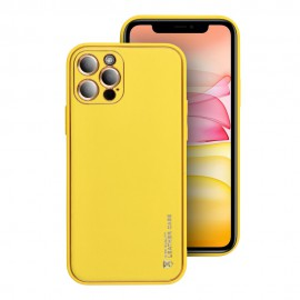 Etui Forcell Leather Case do Samsung Galaxy A02s A025 Yellow