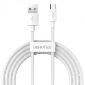 Kabel Micro USB XO NB-P171 1m 2,4A Black/Red