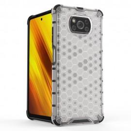 Etui Honeycomb do Xiaomi Poco X3 NFC Clear