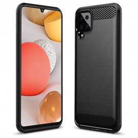 Etui Carbon do Samsung Galaxy A12 A125 Black