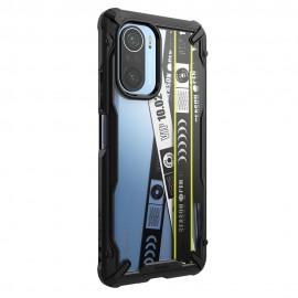 Etui Rearth Ringke do Xiaomi Mi 11i / Poco F3 Fusion-X Design Ticket Band Black