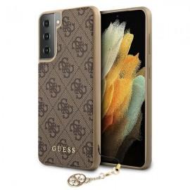 Etui Guess do Samsung Galaxy S21 G991 4G Charms Brown