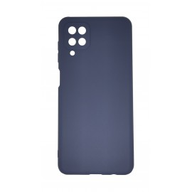 Etui Matt TPU do Samsung Galaxy A12 A125 / M12 Dark Blue