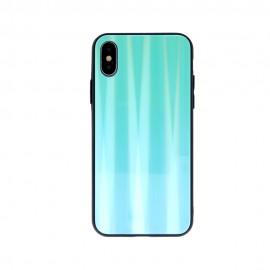 Etui Aurora Glass do Xiaomi Redmi 9T / Poco M3 Mint