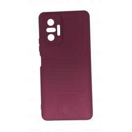Etui Silicon do Xiaomi Redmi Note 10 Pro Burgundy