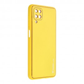 Etui Forcell Leather Case do Samsung Galaxy A12 A125 / M12 Yellow