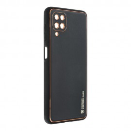 Etui Forcell Leather Case do Samsung Galaxy A12 A125 / M12 Black