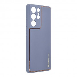 Etui Forcell Leather Case do Samsung Galaxy S21 Ultra G998 Blue