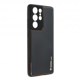 Etui Forcell Leather Case do Samsung Galaxy S21 Ultra G998 Black