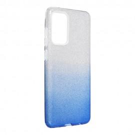 Etui Shining do Samsung Galaxy A72 A725 Clear/Blue
