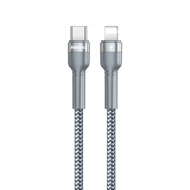 Kabel USB Typ C - Lightning 20W Remax RC-171 Silver