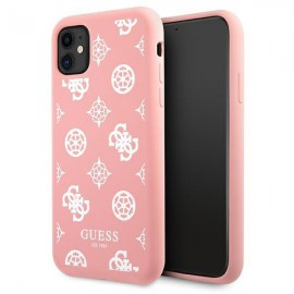 Etui Guess do iPhone 11 Peony Pink